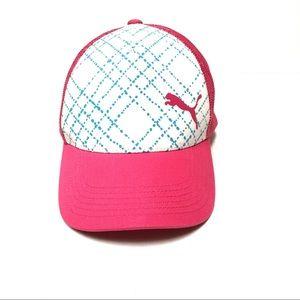 Puma mesh snapback trucker hat OS